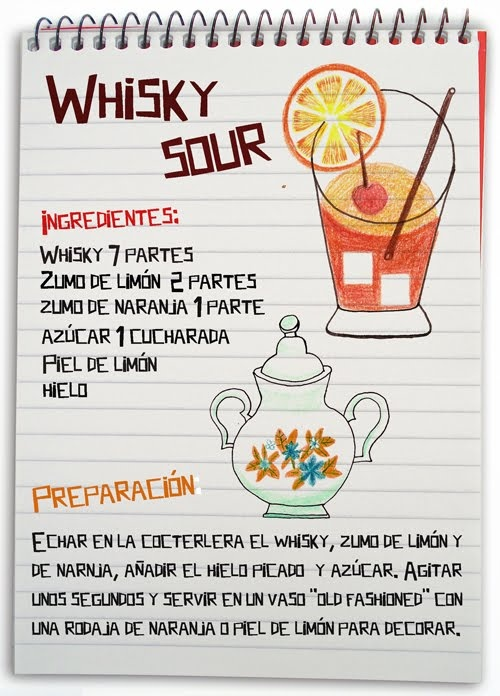 Whisky sour: cóctel con whisky                                                                                                                                                                                 Más