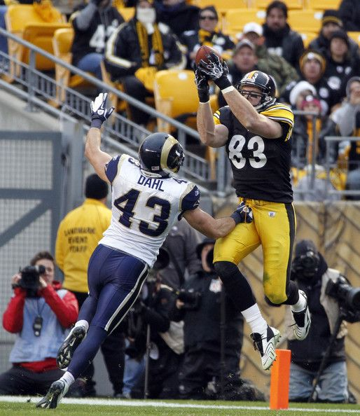heath miller | Heath Miller Heath Miller #83 of the Pittsburgh Steelers makes a catch ...