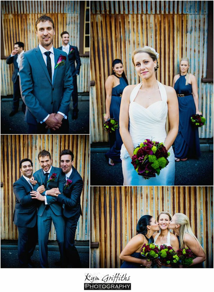 Wedding Ceremony in the Coal Bunker at Scienceworks, Melbourne