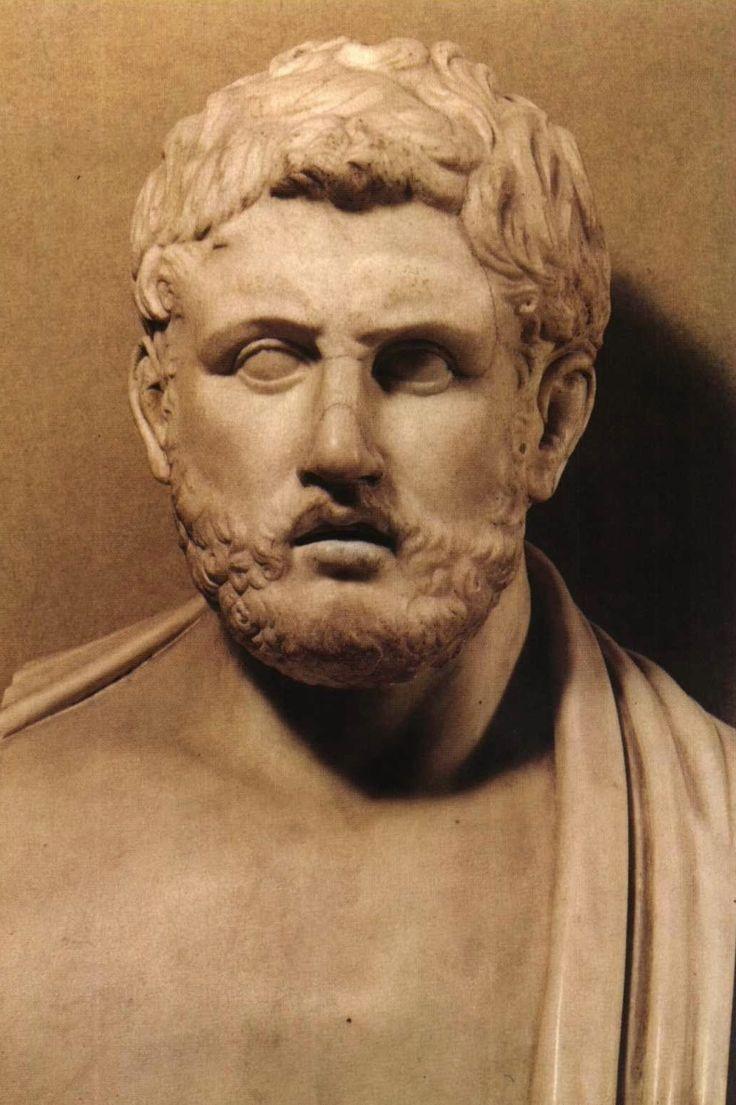 Δημήτριος ο Φαληρεύς, Έλληνας πολιτικός, διακρίθηκε ως ρήτορας, συγγραφέας και φιλόσοφος της Περιπατητικής Σχολής (περ. 345 π.Χ.-περ. 280 π.Χ.)