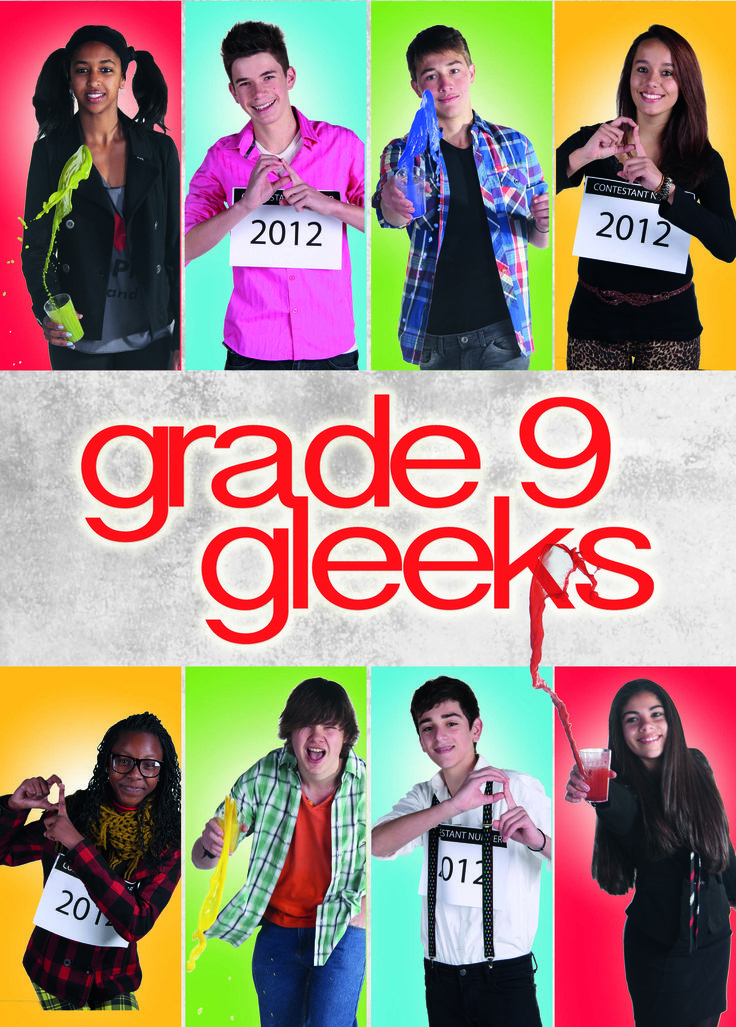 Grade 9 Leader Poster - Reality TV Theme