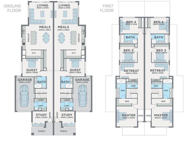 Dual Occupancy Home Designs Narrow Blocks The Expert