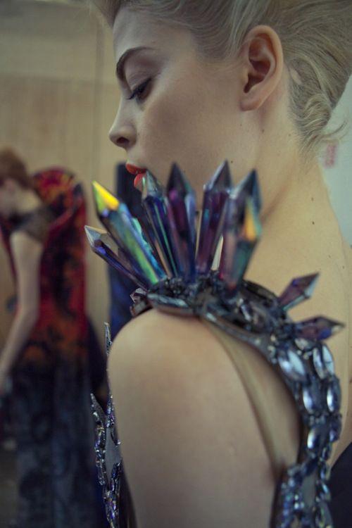 missdesilva:    On Aura Tout Vu Haute Couture 2012.: Snow Queen, Crystals, Vu Haute, Seen It All, Get All, Couture 2012, Holy Grail, Couture Fashion, Haute Couture