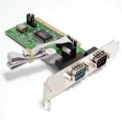 10pk 2-Port Serial PCI Cards by StarTech. $274.66. 10 Pack of 2 Port 16550 Serial PCI Cards. Get more out of your serial devices! StarTech s 10PKPCI2S550 10 pack bulk serial cards give you two serial ports per card for connecting any new or old serial peripheral. Ideal for system builders, these cards come in non-retail packaging with a single driver disk, providing you with over 35% in savings! Perfect for connecting serial modems, POS devices, PDAs, digital cameras, printers, I...