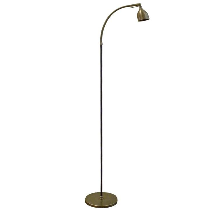 41 best standing lamps images on pinterest floor standing lamps valerio flexible neck standing lamp flexible neck standing lamp shown in black and antique brass mozeypictures Gallery