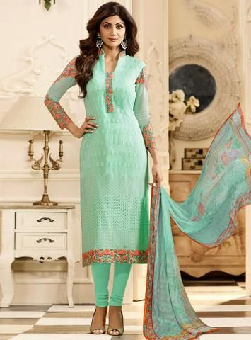 FInd the latest Shilpa Shetty Dresses Collection of Anakali, Salwar Suit with a High-Quality Fabric Material. 100% Original Product available at Liinara.