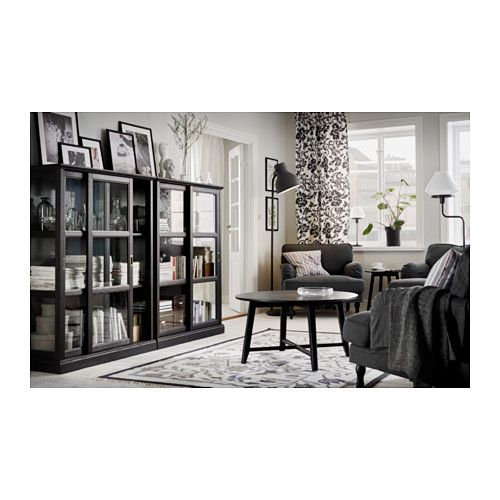 Three of these along wall and leaves room above for hanging artwork? MALSJÖ Glass-door cabinet - 105x141 cm - IKEA