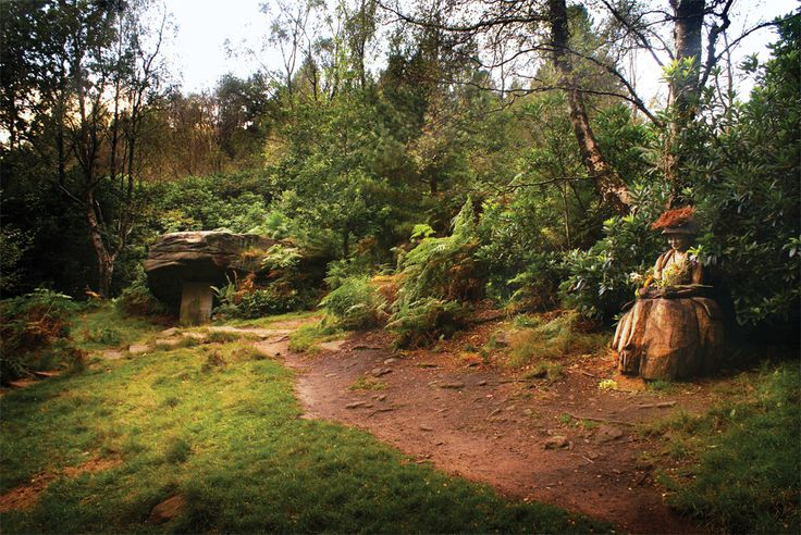 Lady Blantyre's Rock, St Ives Estate, Harden, by Lisa Firth (April 2013 cover)