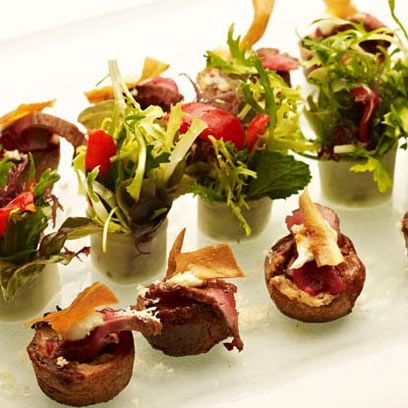 17 best images about christmas canape ideas on pinterest for Christmas canape ideas