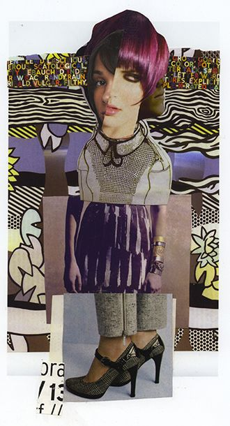 exquisite corpse- collage group project- game
