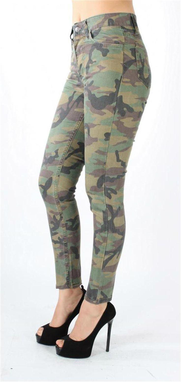 Kamuflaj Desenli Jeans Pantolon | Jeans & Pantolon | Modabenle