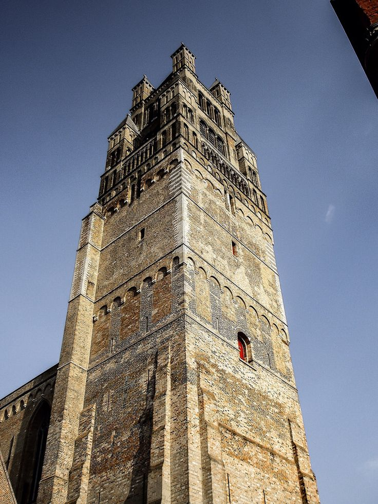 Torre de la Catedral de San Salvador (Brugge - Belgium)