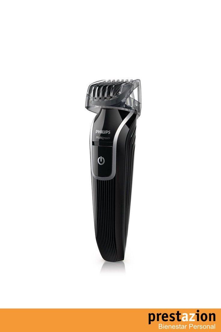 philips qg3320 15 set de arreglo personal serie 3000 con accesorios para barba y nariz. incluye peine de corte con 18 posiciones.