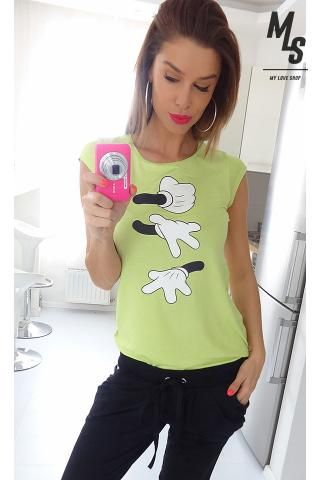 Nena Sugarbird Mickey Disney t-shirt