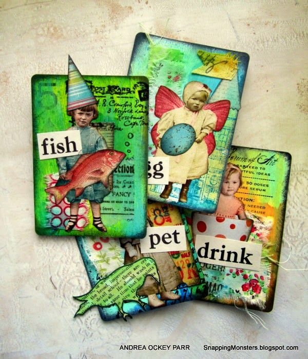 Best Artist Trading Cards And Inchies Images On