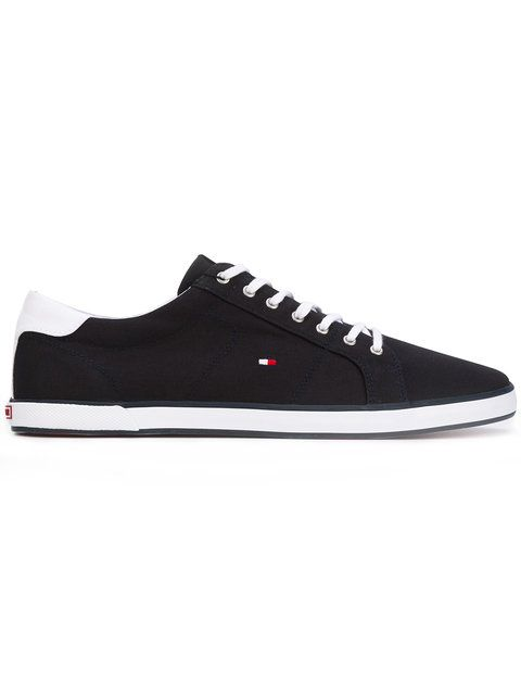 TOMMY HILFIGER lace-up sneakers. #tommyhilfiger #shoes #flats