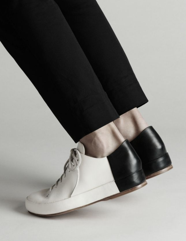 Details we like / SHoes / softgoods  Black and White / Contrast / at Iamadreamer