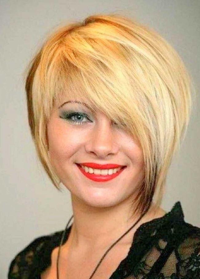 Asimetrik Kadın Kısa Saç Modelleri