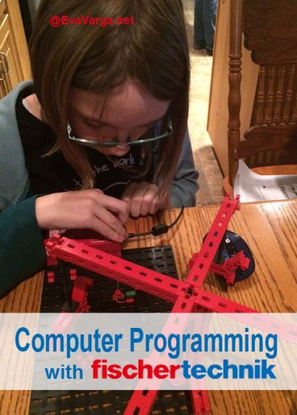Fischertechnik provides the materials and curriculum support to engage students in basic computer programming skills year round.