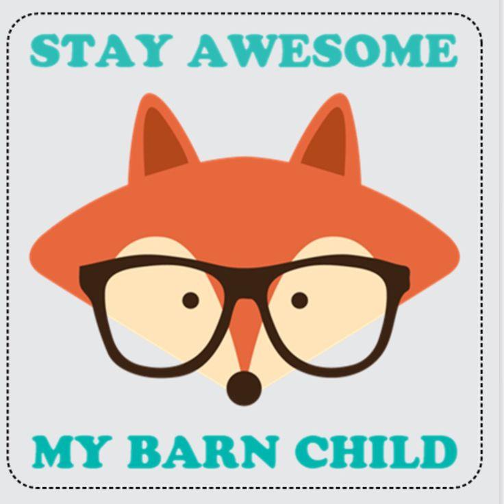 #stayawesome #mybarnchild www.mybarnchild.com