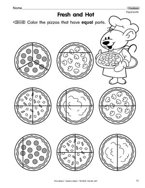 17 Best images about Math - Fractions on Pinterest | Pizza, Math ...