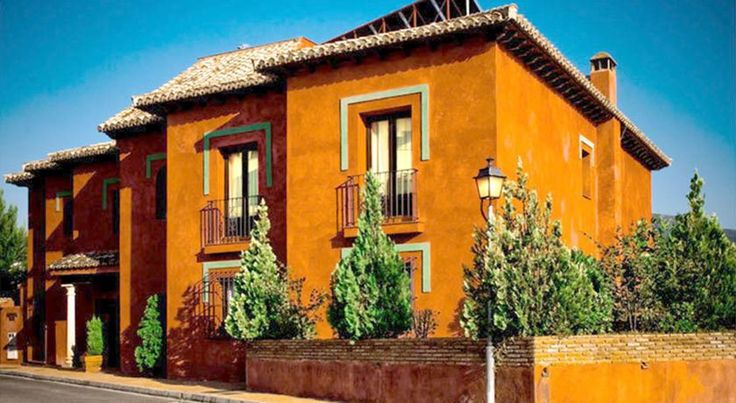 Cerro del Sol Cenes de la Vega This small, boutique hotel enjoys a peaceful hillside location on the edge of Granada, a 10-minute drive from the Alhambra.  Enjoy the tranquility from the hotel's own outdoor swimming pool, set in the Cerro del Sol's attractive gardens.