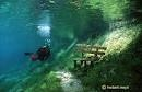 How awesome would it be to sit on this bench?! Green Lake, Austria.