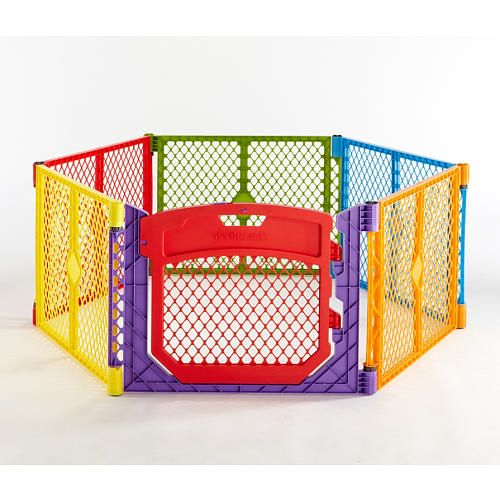 North States Superyard Colorplay Ultimate | ToysRUs - use to divide up the play area in the basement.