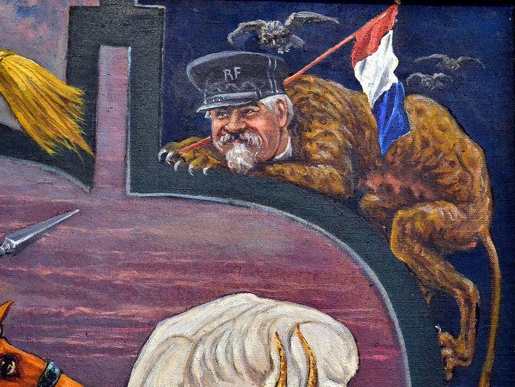 Антанта (президент Франции Раймон Пуанкаре).