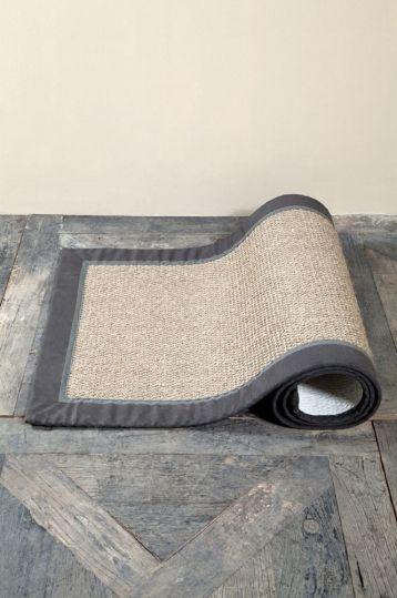 Edgartown Carpet grey/ dgrbor80x250
