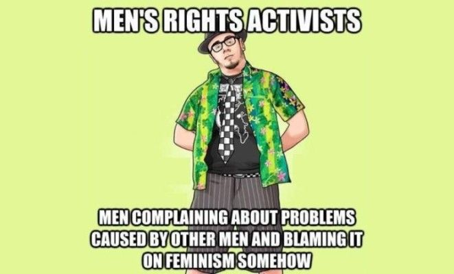 What follows is a response to a popular list of claims and arguments made by men's rights activists. 1. SUICIDE: Men's suicide rate is 4.6 times higher than that of women's. [Dept. Health & Hum...