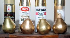 Answering: Which Gold Spray Paint Is Best? This post was so helpful since the colour on the lid is never what you get!