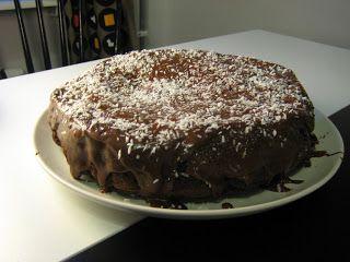 Vegansk/gräsätare: Saftig vegansk chokladkaka med mockaglasyr