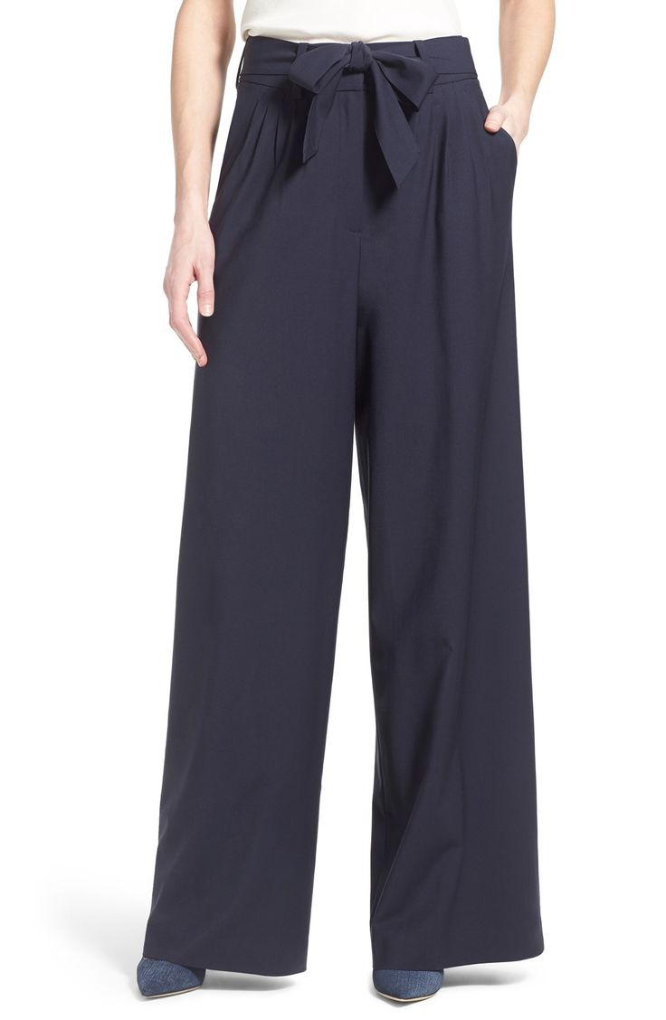 Swooning Over These Wide Leg Trousers That Pair Perfectly