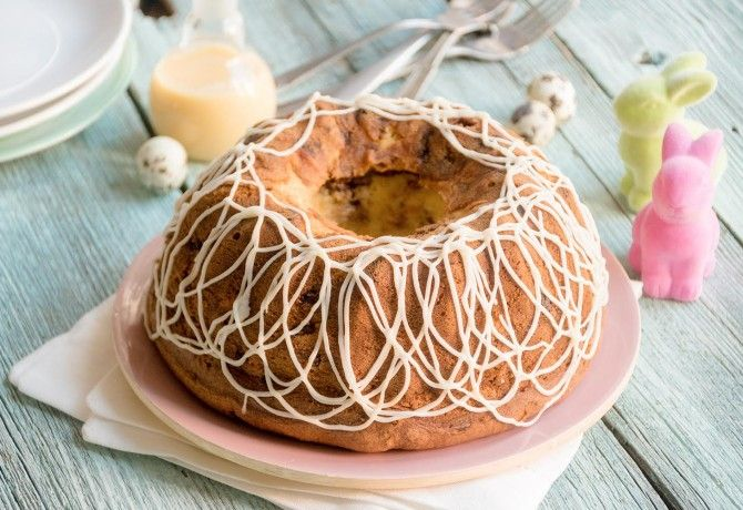 Egészséges és finom - készítsd el húsvétra ezt a tojáslikőrös kuglófot!