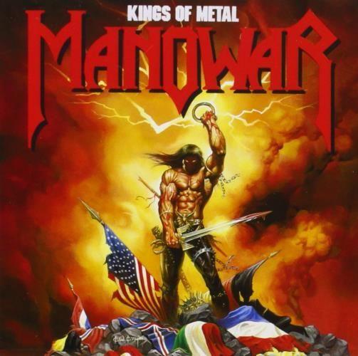 """RECENSIONE: Manowar ((Kings of Metal)) Il percorso iniziato con il controverso (per certi aspetti) """"Fighting the World"""" giunge definitivamente a compimento nel 1988, consacrando i Manowar a realtà di spicco del Metal mondiale. """"Kings of Metal"""" sancisce il definitivo successo degli americani, consolidando la loro fama in patria e fortificando quella acquisita all'estero, nel corso degli anni. Orecchiabilità, melodie trascinanti, ma anche tanta carica Heavy e rimandi alla gloriosa epica dei…"""