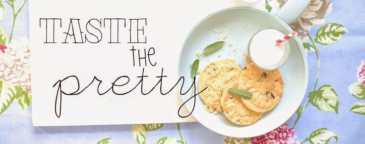 Taste the pretty blog...