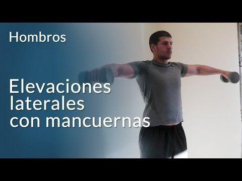 Elevaciones laterales de hombros - Ejercicios En Casa