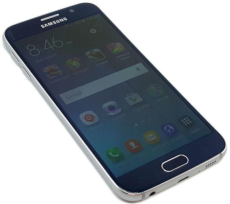US Cellular Samsung Galaxy S6 Black 32GB Clean ESN Smartphone Phone #9024 #Samsung #Smartphone
