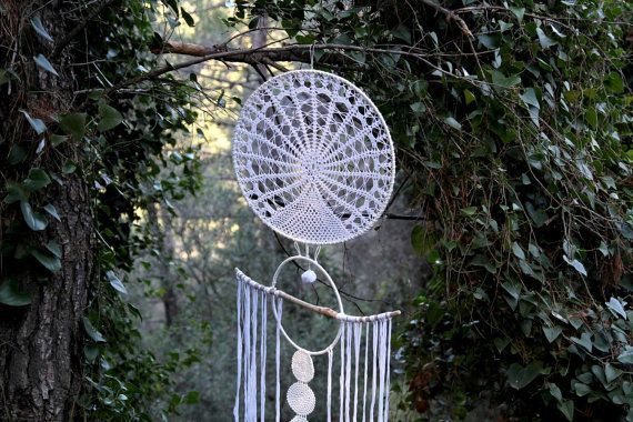 Urika Large Bohemian Dreamcatcher decorated with by Wunderdreams