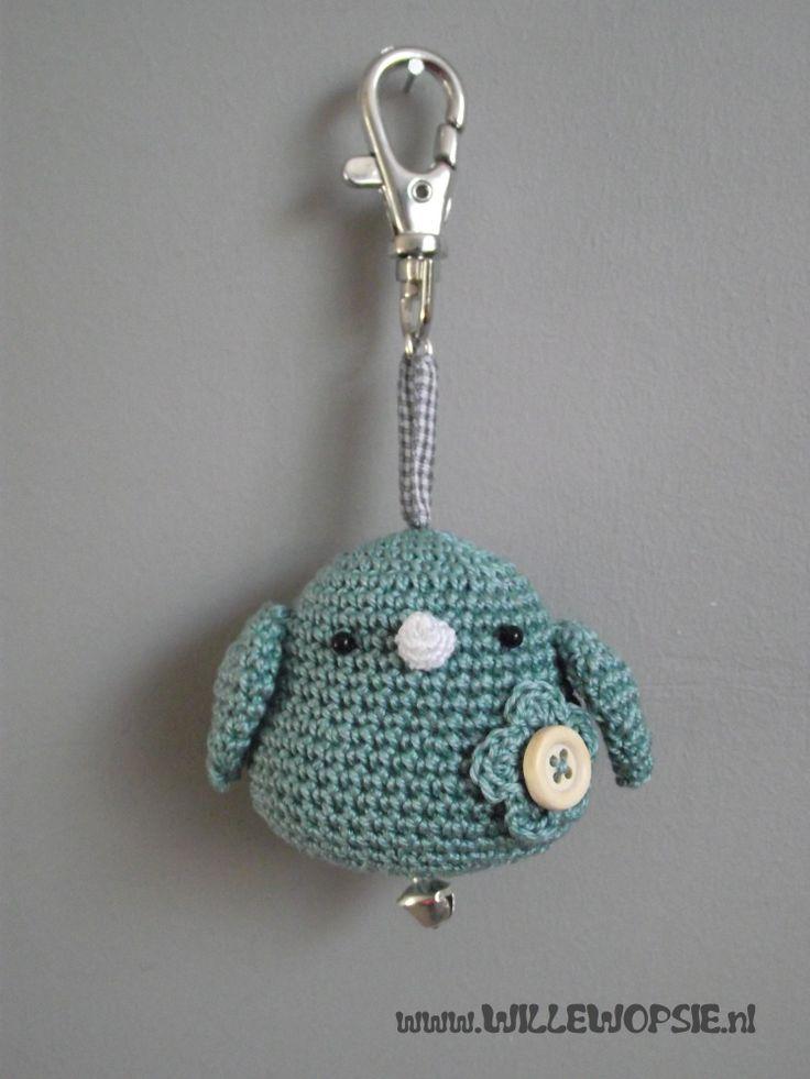 501 Best images about Haken sleutelhangers/ crochet ...
