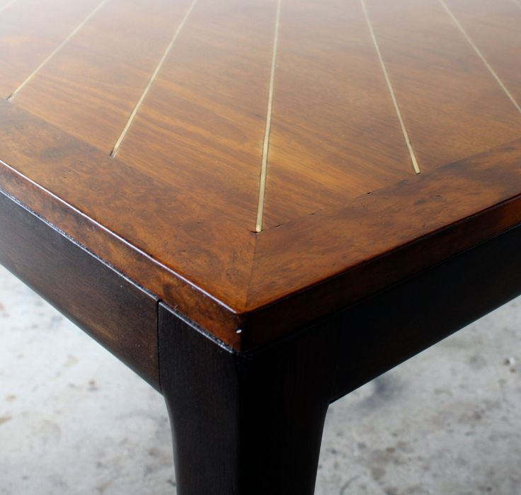 Parzinger Style Dining Table  $2900 - Berwyn http://furnishly.com/catalog/product/view/id/6187/s/parzinger-style-dining-table/