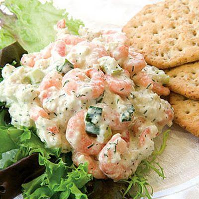 Seafood Salad Dip-eat with crudites instead of crackers