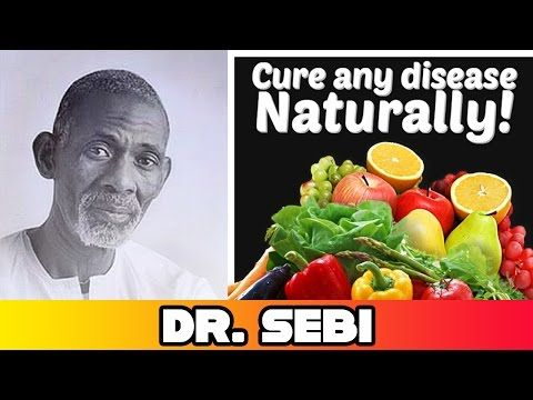 Dr. Sebi - Curing Critical Diseases Naturally with Cell Food (full video) - YouTube