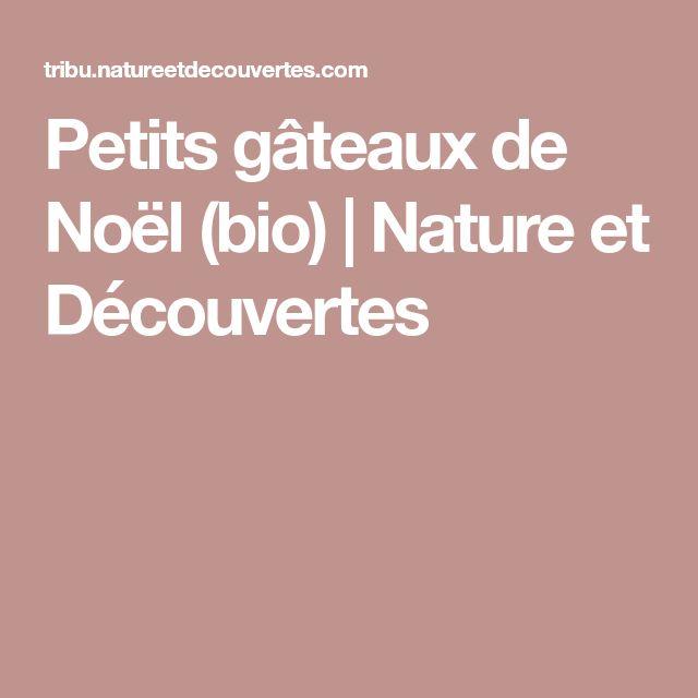 Petits gâteaux de Noël (bio) | Nature et Découvertes