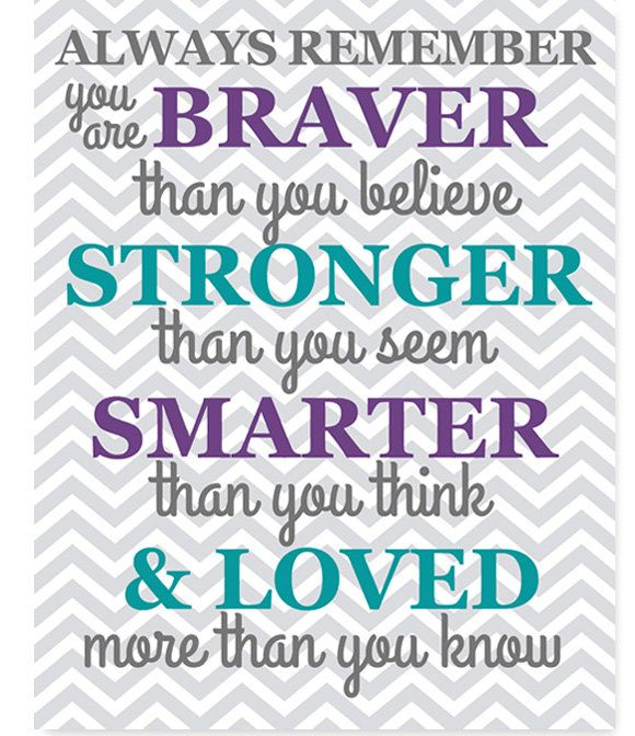 braver than you believe quote nursery decor gender neutral boy girl sharing room decor green pink navy purple gray chevron decor twin room by SweetPeaNurseryArt on Etsy