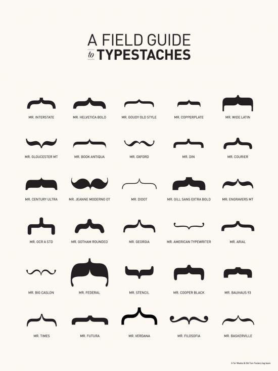 typestaches: Graphic Design, Moustache, Typestaches, Poster, Typography, Mustache, Fields