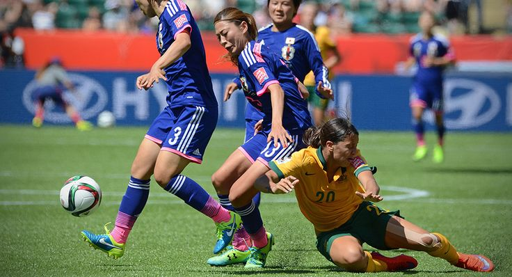 Photos: Women's World Cup – Australia vs Japan