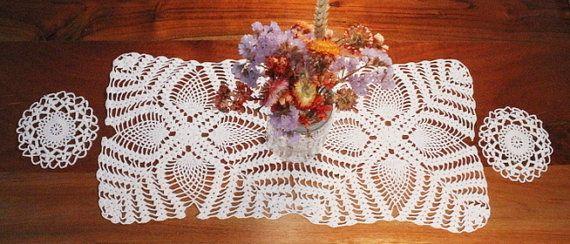50% OFF SALE:  Antique Lace Doily Lace Doily by ClockworkRummage
