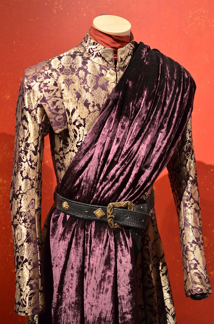 Almost all of the costumes are made by the Game of Thrones wardrobe department show's costumes in-house at Titanic Studios in Belfast, Northern Ireland. Even the fabric is created just for the show — the costumers use a loom to weave the